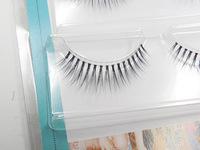 2015 New 3D Korea 3 Pairs False Eyelashes Hand Made Natural Long Strip Faux Eye Lashes Maquiagem Professional Make Up Tools