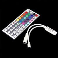 New Arrival Mini 44 key IR Remote Controller For 5050 3528 RGB Led String Light Strip