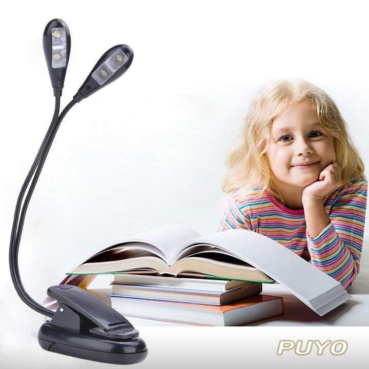 2015 Cheap 360 Degree 4 Leds Mini Flexible Clip/Stand Led Book Ebook Light Laptop PC Reading lamp SV11 SV009609(China (Mainland))