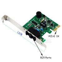 PCI-e Express 56k Dial-up DATA/FAX MODEM ITU T V.92 Adapter Card for Windows Vista XP WIN 7 8 32/64bit