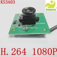 H.264 1080P High resolution USB2.0 CMOS 3.0Mega Pixel Camera module Auto White Balance Temperature  Free shipping