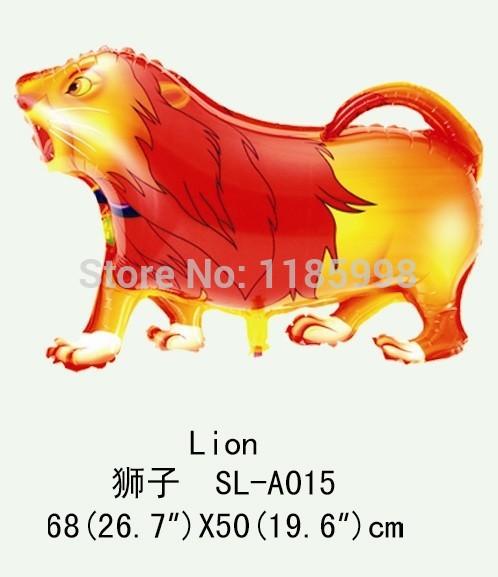 Oy membrana do balão de nylon leão de brinquedo colorido brinquedos para crianças - simulação(China (Mainland))