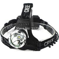 1200 Lumens10w  led mining light CREE XM-L XML T6 LED Headlamp high power Flashlight Head Lamp Light + 2*18650 battery + charger
