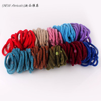 Wholesale 10pcs/lot Girl baby Women Elastic Hairband Hair Band Ponytail Fashion Hair Accessories 10 Colours Choice Free Shipping