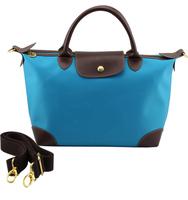 Autumn shoulder bag dumplings fashion messenger bag cowhide patchwork travel bag handbag