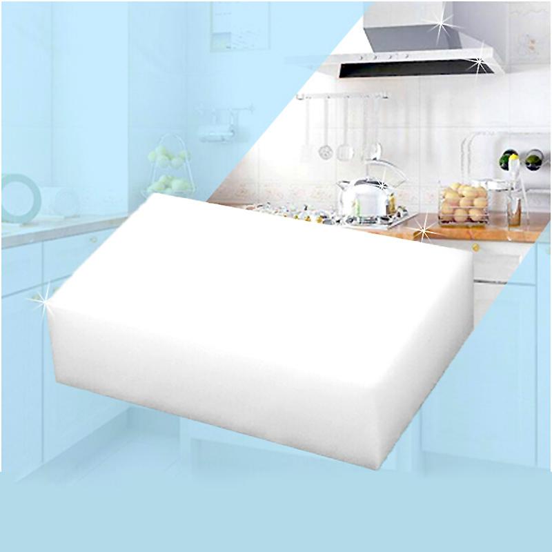 10 pcs lot White Magic Sponge Eraser Melamine Cleaner multi functional Cleaning ZH209