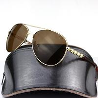 2015 Back coated punk Gradient TAC polarized polaroid polarised golf  ski UV400 women sunglasses with case