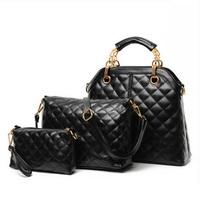 Women's handbag 2014 female bags dimond plaid fashion vintage shoulder bag cross-body handbag