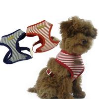 Pet Harness High-grade Striped Sailor Series Chest Set Pet Chest Straps Dog Vest For Small Dog & Cat 2 Colors 5 Size XS S M L XL