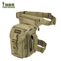 Outdoor multifunctional leg bag tactical leg bag ride sports waist pack bag