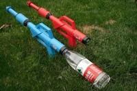 Children'S Summer Toy Gun Coke Bottle Water Bottle Water Cannons Drifting Gun