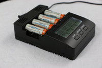 Hot!!1 Refresh ChargerTester For AA AAA Ni-Mh and Bi-Cd LCD Smart Intelligent Battery Charger with EU Adapter
