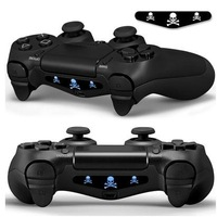 Free shipping 100PCS PVC Decal Skin/Sticker For Play Station 4 Controller LED Light-Mix Order PS4 Console Controller Skin DIY