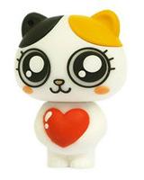 free shipping New cartoon cat model 4GB 8GB 16GB 32GB usb 2.0 flash drive Pen Drive memory stick UD823