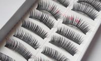 10 Pairs False Eyelashes Hand Made Natural Long Thick Voluminous Strip Faux Eye Lashes Maquiagem Professional Make Up Tools