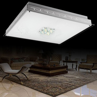 Modern brief glass ceiling light lighting lamp lamps
