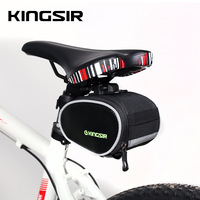 free shipping New Roswheel Outdoor Cycling Mountain Bike Bicycle accessories Saddle Bag Back Seat Tail Pouch Package