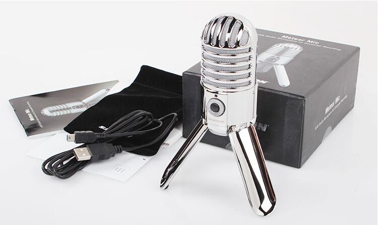 Самсон метеор микрофоном USB конденсаторный профессиональный микрофон студийный микрофон кардиоидный для ноутбука сети