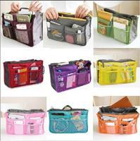 Women bag Double Zipper Portable Multifunctional Travel Pockets Handbag Storage Bag,Fadish Travel Cosmetic Makeup women Wash Bag