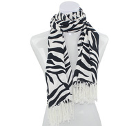 2014 winter new zebra print strips women scarves warm scarves women shawls FREE SHIPPING