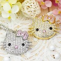 USB 2.0 8GB 16GB 32GB 64GB Pen Drive Hello Kitty KT Cat Creative Gift Lovers Usb Flash Drive Pendrive Flash Card Memory Stick