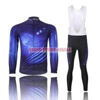 2015 Real Ropa Motocross Suit Map Thermal Cycling Clothing Set Newest Fleece Lining Winter Jersey Ciclismo Bike Jacket Bib Pants