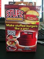 wholesale ! 60pcs/lot Stufz Stuffed hamburger press,kitchen meat and poultry tools,burger press meat,hamburger machine