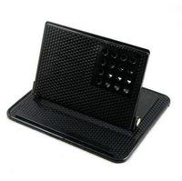 Car GPS navigation device bracket 360 degree rotati Car Holder Universal Car phone stand with silicone anti-slip mat