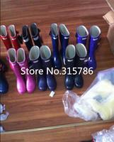 free shipping, fashion rain boots low heels waterproof women wellies boots,women rainboots,woman water shoes,15 colors