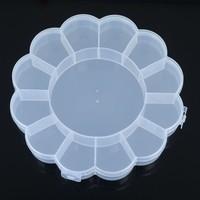 13 Grid Compartments Plastic Jewellery Bead Organizer Box Storage Container Case