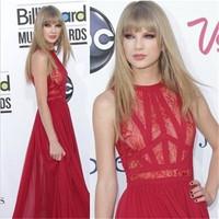 Vestidos 2015 Red Lace Dress Women Vintage Lace Long Dress Party Evening Vestido De Festa Grows Bodycon Dresses Taylor Swif 2691