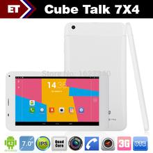 Cube U51GT talk 7x 7×4 quad core Tablet PC 7 inch Phone Call MTK8382 1.3GHz 1GB RAM 8GB WCDMA GPS Bluetooth FM