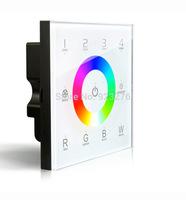 Free HK Post D8 Touch Led  Controller DMX512 4 Zones control DC12-24V   Dimming Touch Panel LED Controller