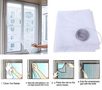 Insect Fly Bug Mosquito Door Window Net Netting Mesh Screen Sticky Velcro Tape  96203