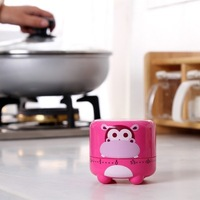 New 1pc Cute Cartoon Mechanical 55 Minutes Kitchen Cooking Count Down Up Timer Alarm Counter Reminder Hot Sale BFCF-205F