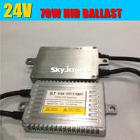 2X S7 70W 12V 24V hid ballast auto truck headlights for all hid bulbs H1 H3 H7 H11 9005 9006 auto digital ballasts