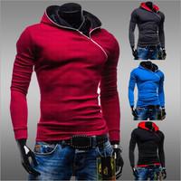 Men Hoodies Sweatshirts 2014 New Brand Men's Hooded Fleece Hoodie Sweatshirt Men Hooded Coat Chandal Hombre Sport Suit ZHY1247