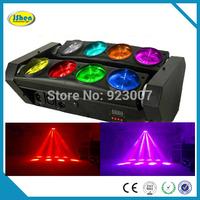 8*10watt 4in1 RGBW Led Spider Moving head beam light