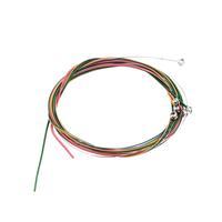 1pcs Multi Color 1-6 E B G D A E Rainbow Set for Acoustic Guitar Colorful Strings Wholesale