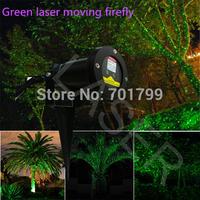 Green laser moving firefly;used for tree leaves/Christmas tree/Tree lighting/waterproof; IP65;Outdoor lighting