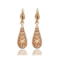 Fashion jewerly Hollow Dangle Earrings Chinese Women Drop earrings Free Shipping