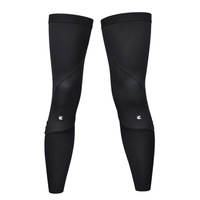 New Unisex Thermal Exercise & Fitness Leg Warmer Black Windproof Cycling MTB Road Bike Bicycle Leg Cover S-XXL