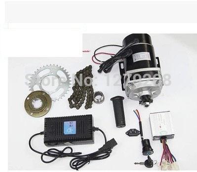 Мотор для электровелосипеда 450W 48v,