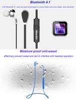 10pcs/lot Bluetooth Headphone Bluedio In Ear Earphones with MIC Wireless Handsfree Sport HIFI Stereo Headset Multi-point