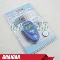 Pocket Mini Digital LCD Coating Thickness Meter EM2271 Car Paint Thickness Tester Painting Thickness Gauge