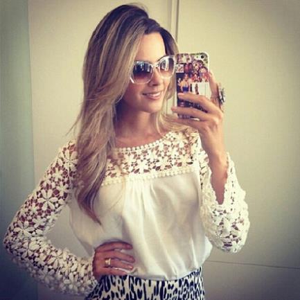 Женские блузки и Рубашки Hi holiday Blusa Roupas Camisas Blusas Femininas 150173 женские блузки и рубашки summer blouse blusas femininas 2015 roupas s