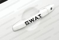 SWAT vinyl decal for car's door handle car sticker 4 pcs in one set
