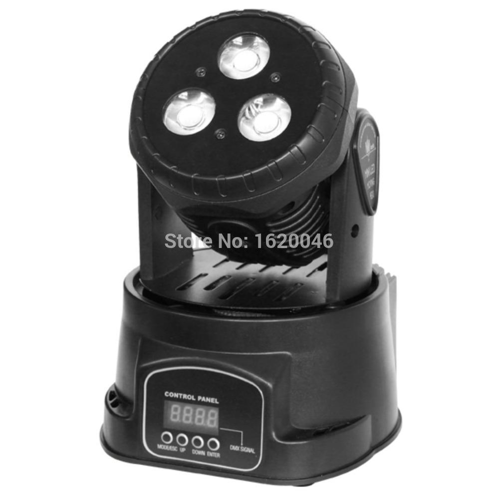 3PCS 15W COB LED Wash Moving Head Light spotlight(China (Mainland))