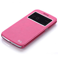 Free shipping 5Colors Hot! Brand Book Style Flip Genuine Leather Cover Case For Samsung Galaxy Grand 2 G7102 G7106 G7108