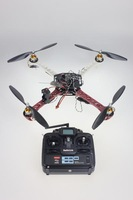 F02113-E JMT 4 Axis Kit RC Drone ARF + KK Flight Control Board + A2212 Motor + ESC + Tarot SK450 Frame + CF Pros + 7CH TX RX